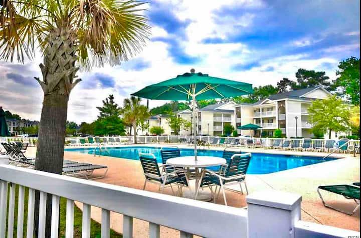 ❤️ Myrtle Beach Serenity - Minutes to Beach & Golf!