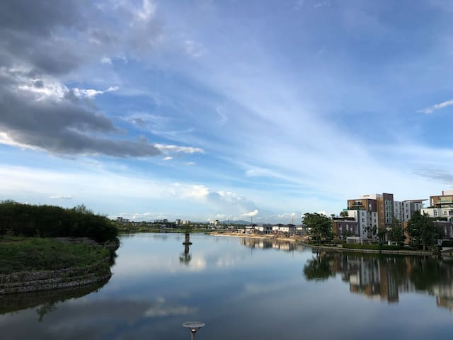 Chiang Mai Apartment, Serene Lake,  monthly rent
