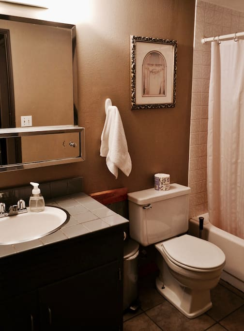 The Master's Dorm Bathroom