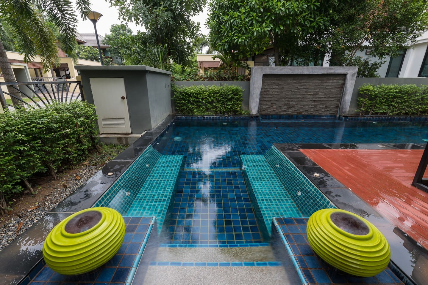 Welcome to our lovely apartment with sparkling pool