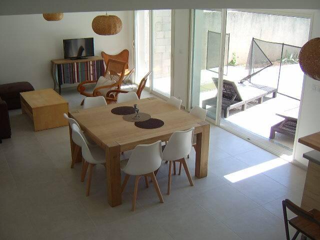 Maison neuve à 15mn des plages de Camargue