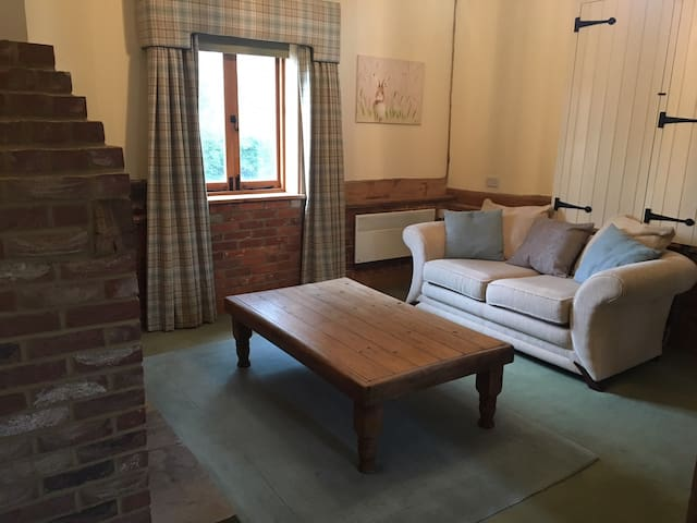 Farm stay in spacious accomodation with character