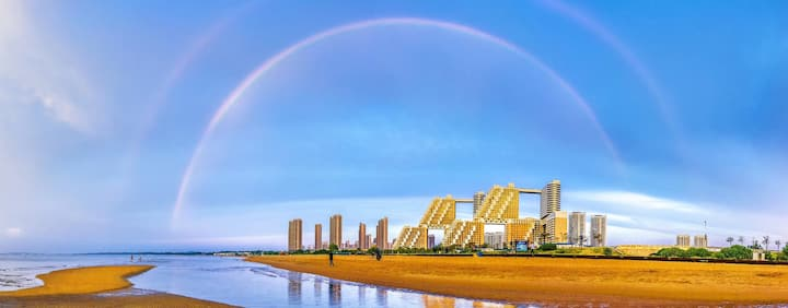 【海碧台】B3金梦海湾香格里拉家庭式看海民宿