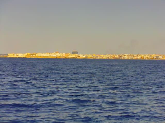 Gallipoli, vista dal mare