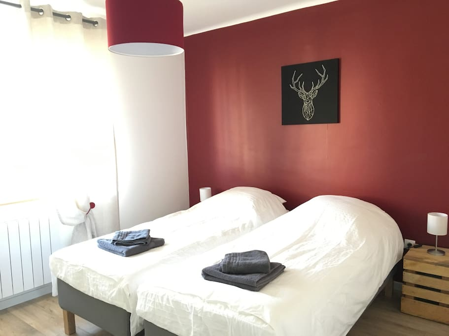 Chambre 1 / Rouge
