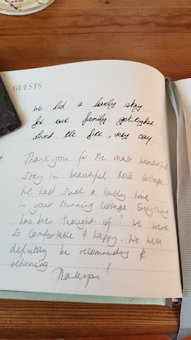 From the guest book 1st January 2019