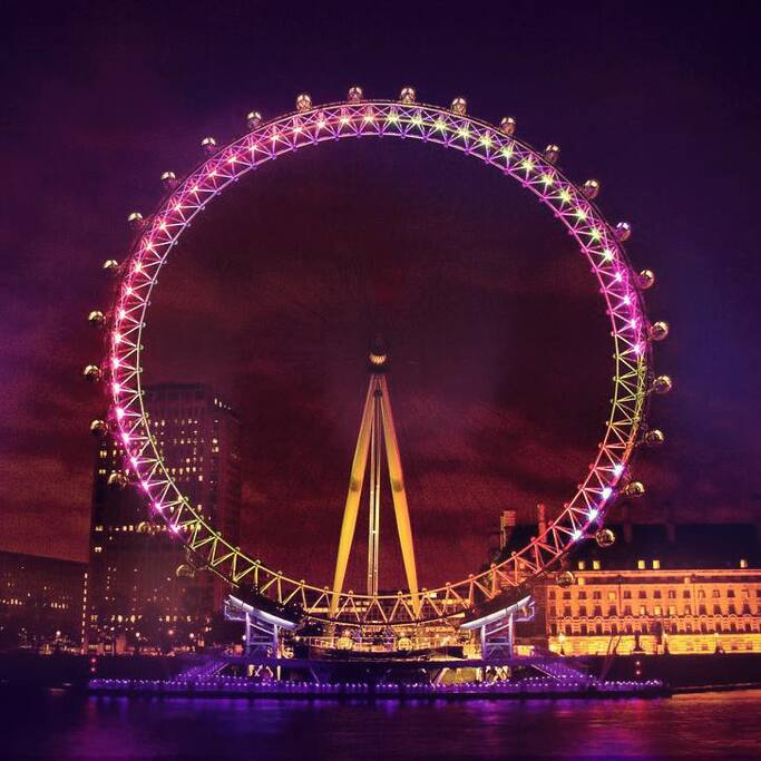 London Eye (5 min walk)
