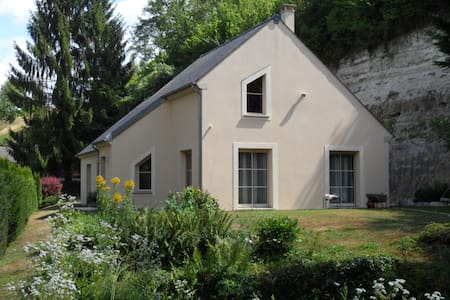 French countryside house - 1 h from Paris -2/4 pax - Huis