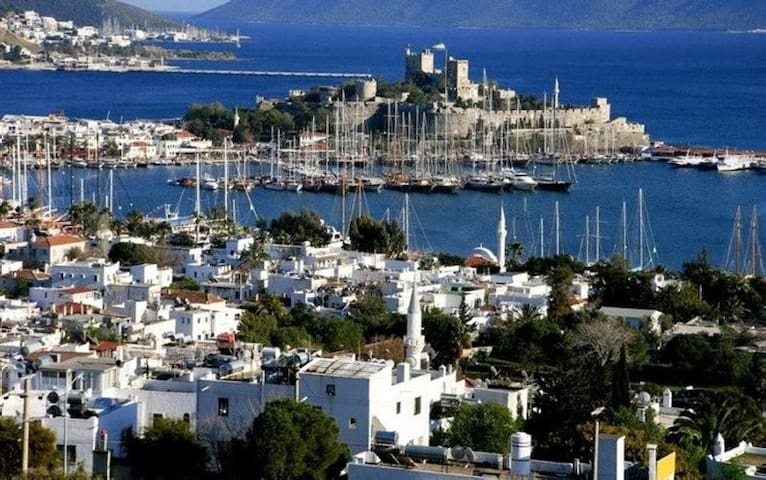 Bodrum,Flamingo Country ClubApt to Daily Rental(V)