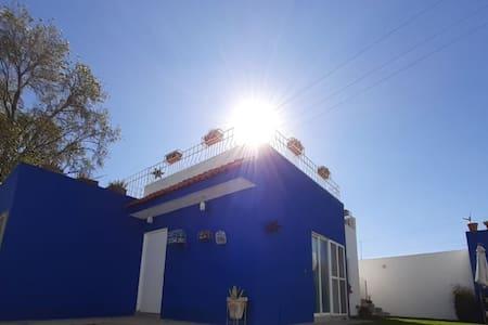 La CASA AZUL en Aguascalientes
