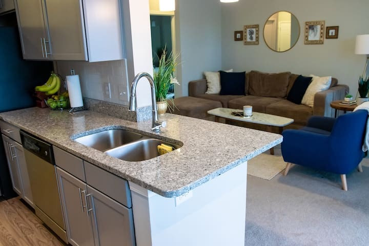 Long Term Stay in Luxurious 2Bed/2Bath with view!