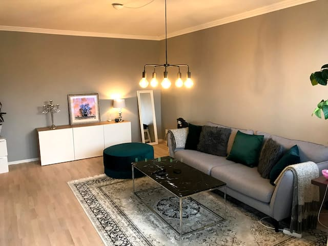 Light one room apartment near water and city
