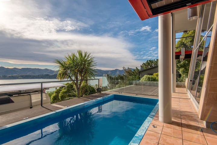 Cordyline Point Retreat - Charteris Bay - Apartament