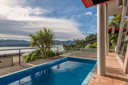 Cordyline Point Retreat - Charteris Bay - Leilighet