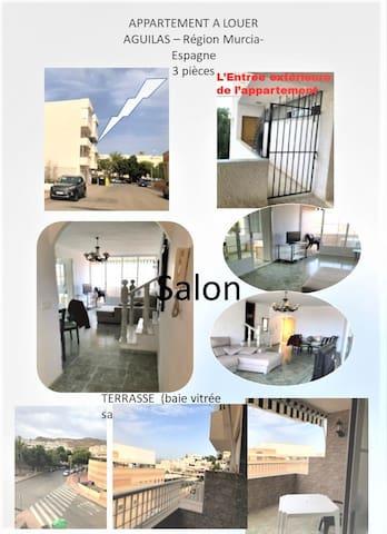 Appartement à Aguilas , l'Espagne Authentique