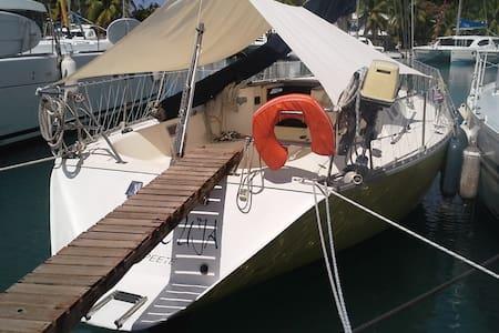 MARACUJA 38 Feet sailing boat in Marina Apooiti - 'Uturoa - Hajó