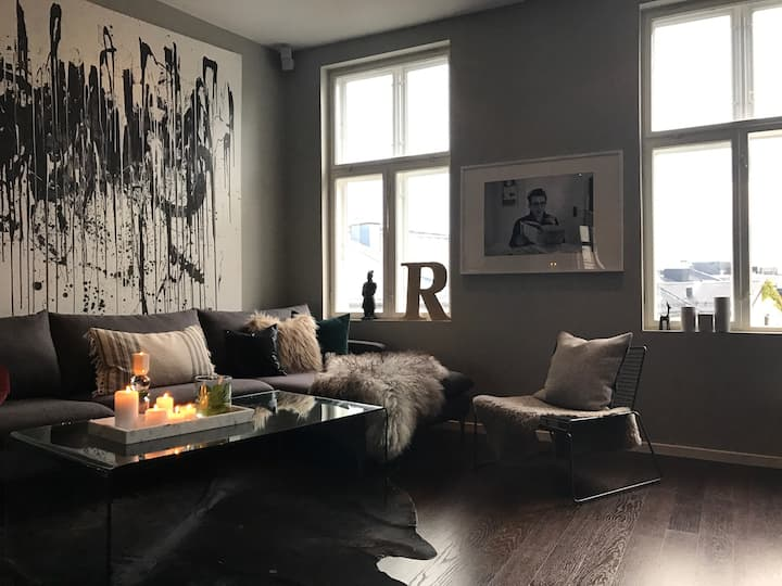 Central and beautifully decorated apartment