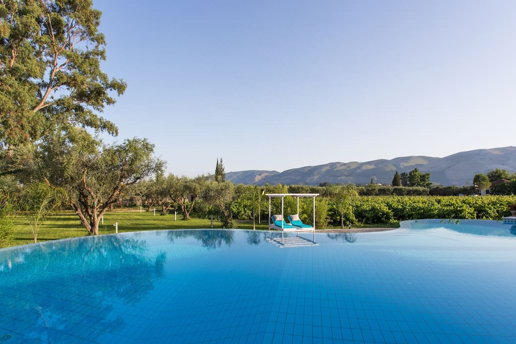Villa Anastasia - The pool