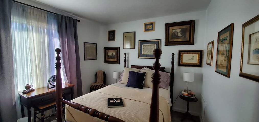 NOMAD BEDROOM with Full-size bed located on second level