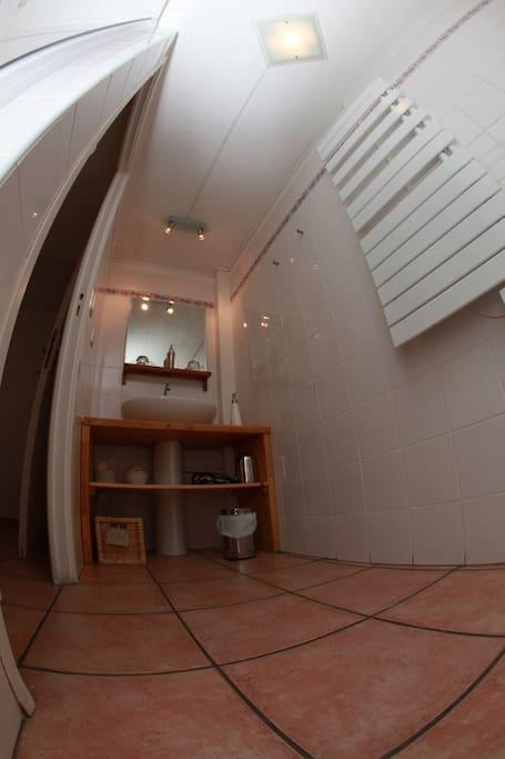 """Chambre """"Zebulon"""" Salle d'eau privée avec toilettes"""