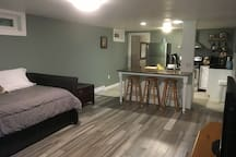 1BR basement apartment