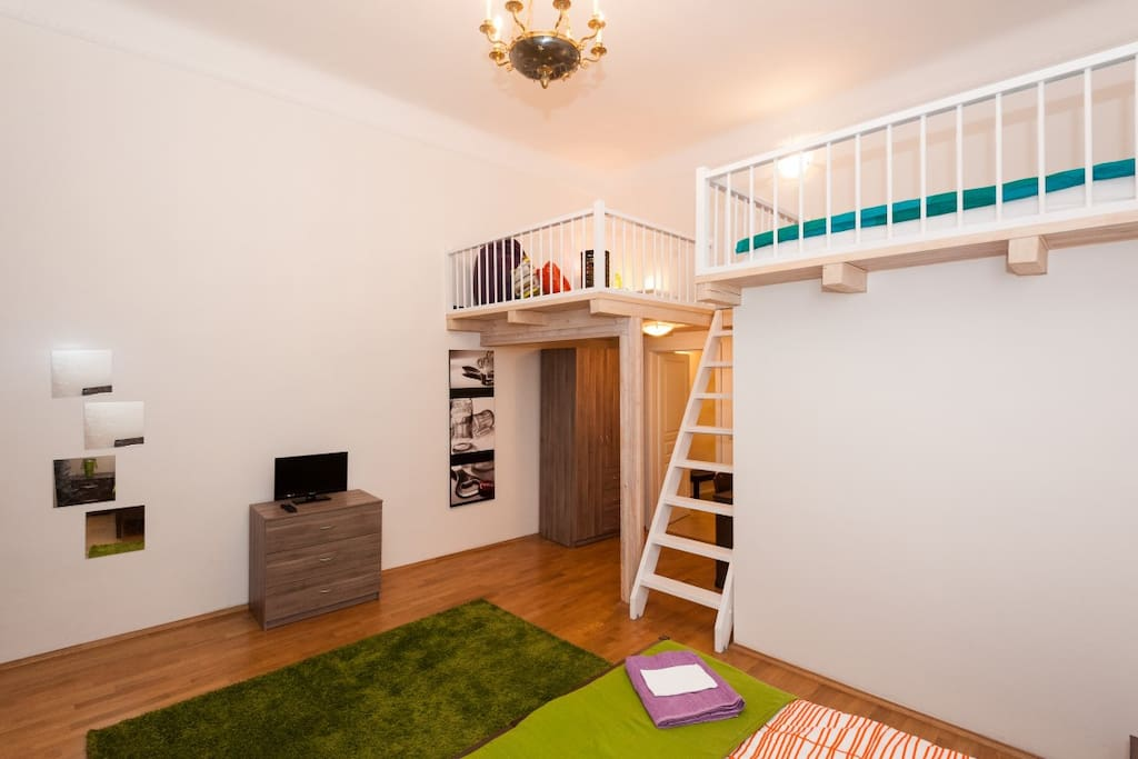 prague apartment-pragueforyou-bedroom1