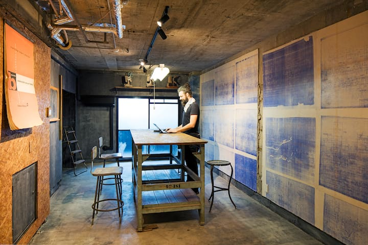 ROAM Tokyo: Suite in a Lively Co-working Community - Minato-ku - Obsługiwany apartament