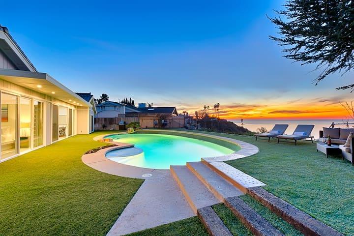 Gorgeous Home w/ Sprawling Ocean Views, Pool & BBQ
