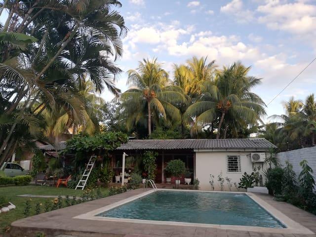 La casa de Darío - El tunco beach