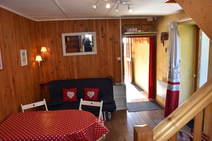 détente/ski/montagne - Brg St Maurice maison 4/6 p - Bourg-Saint-Maurice - Hus
