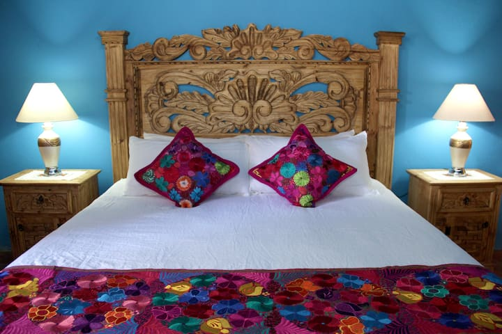 """Chiapas"" bedroom - Inspired in the exotic state of Chiapas."