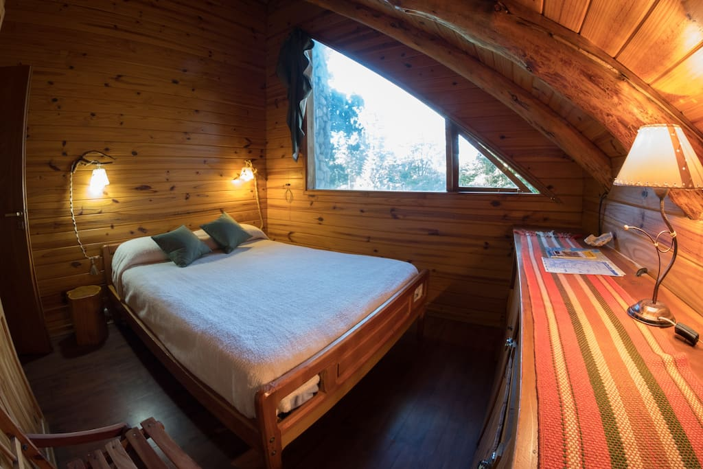 Habitacion Matrimonial con baño compartido con otra habitacion