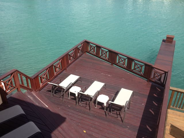 Extended Deck and Dock