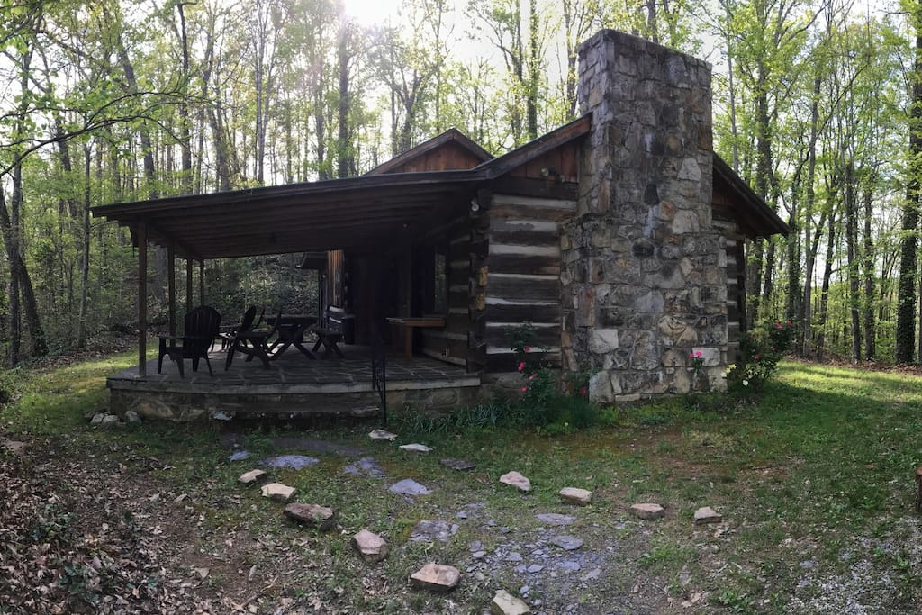 Family cabin in private nature reserve cabins for rent for Private cabin rentals in tennessee