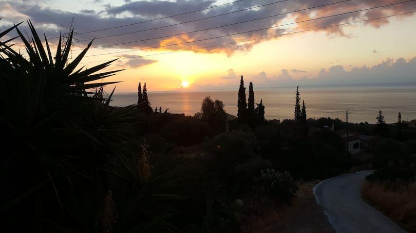 Maison d'hôtes avec vue sur la mer à Monemvasia