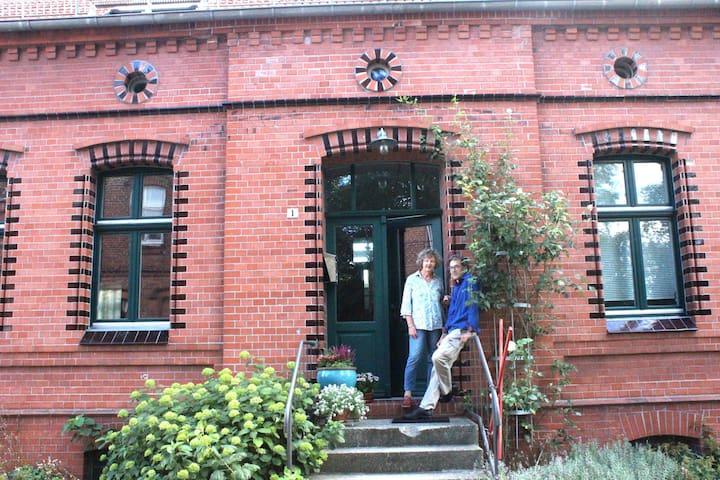 Dachgeschoss,  Bauernhaus von 1896 - Havelaue - Lägenhet