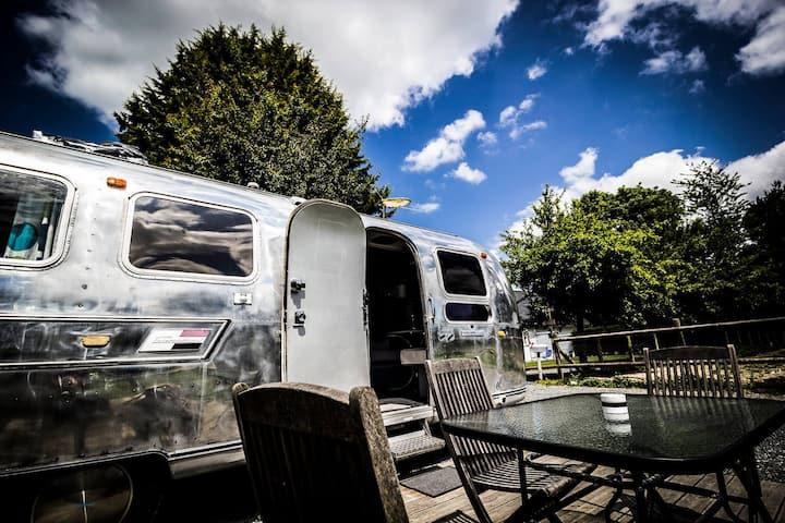 Séjour atypique en caravane américaine L'Airstream