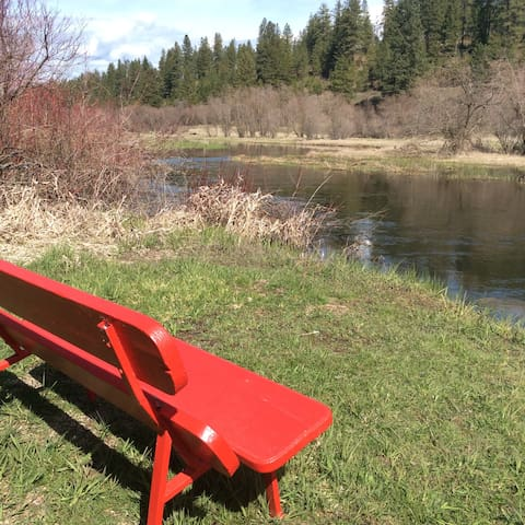 Bring your reading - and relax on the Little Spokane River!