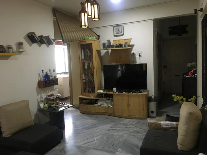 Spacious exclusive  1 BHK  for long stay