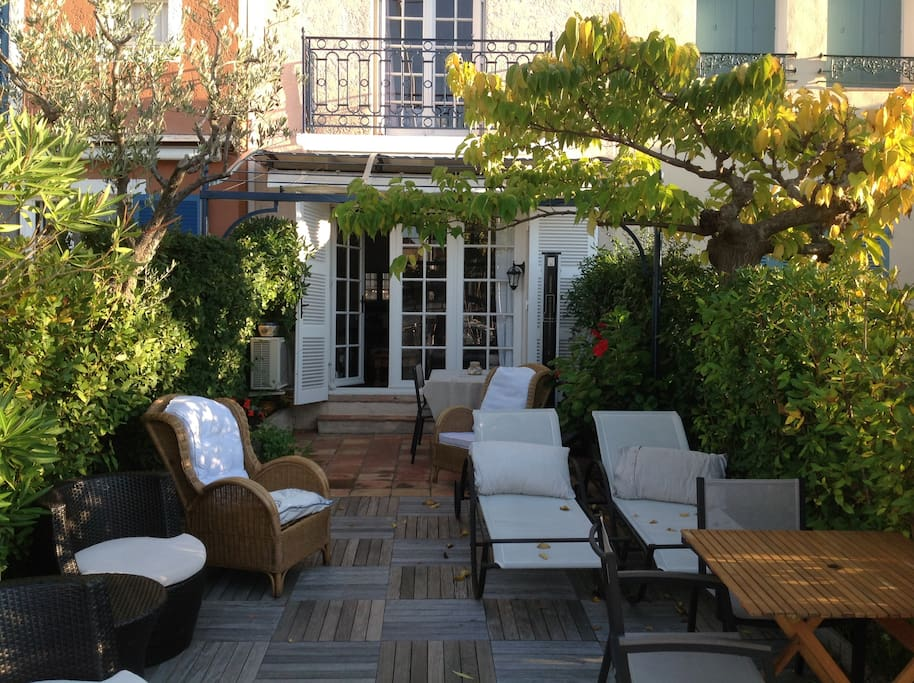 Terrasse/Jardin 35 M2