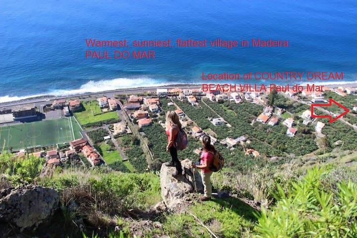 Country Dream BEACH VILLA 150M from Ocean