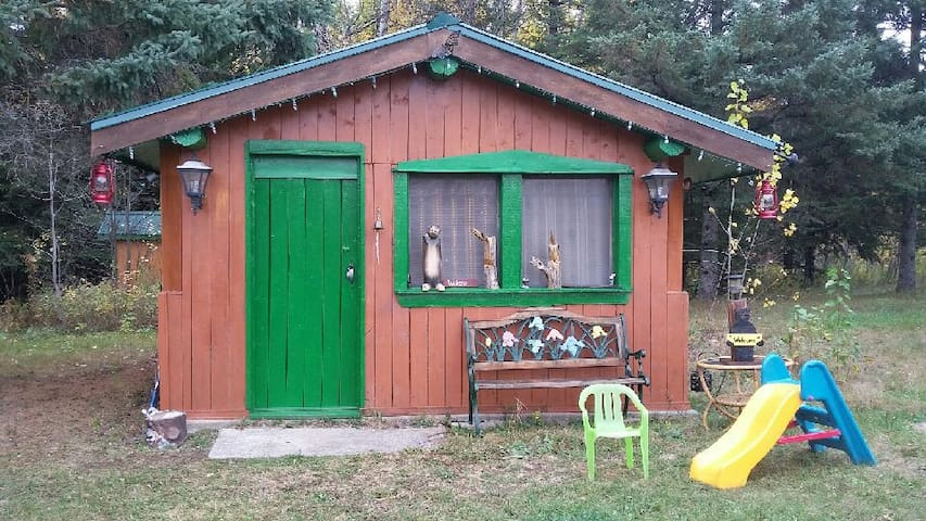 Rustic Bunkie with outdoor hot tub, near Algonquin - Maynooth - Cottage