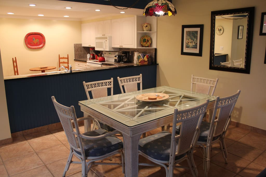 Dining Area and full Kitchen