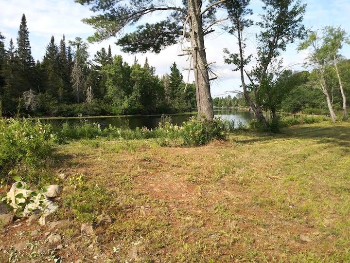 3D's RRC T RV  site 3 WF Raquette River