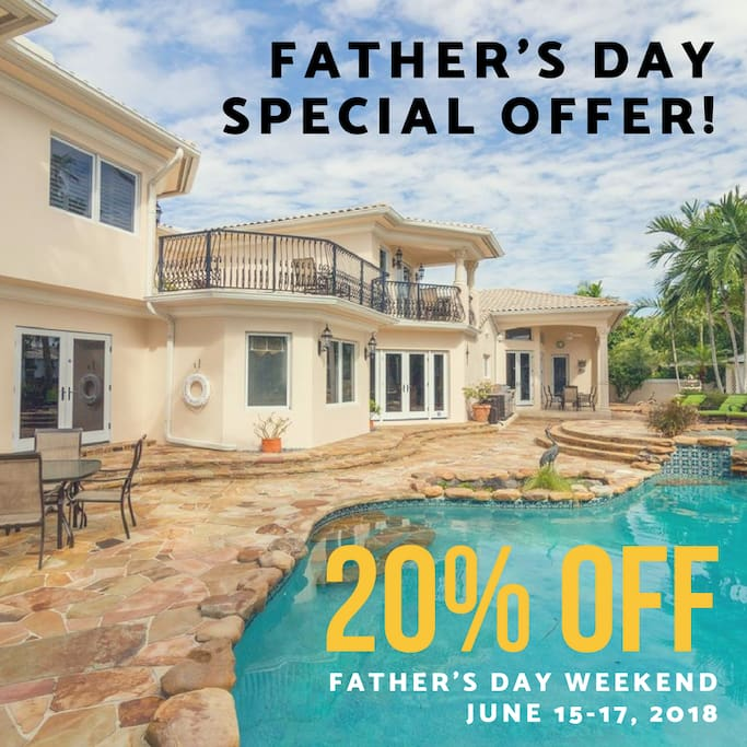 Get 20% OFF this Father's Day Weekend!