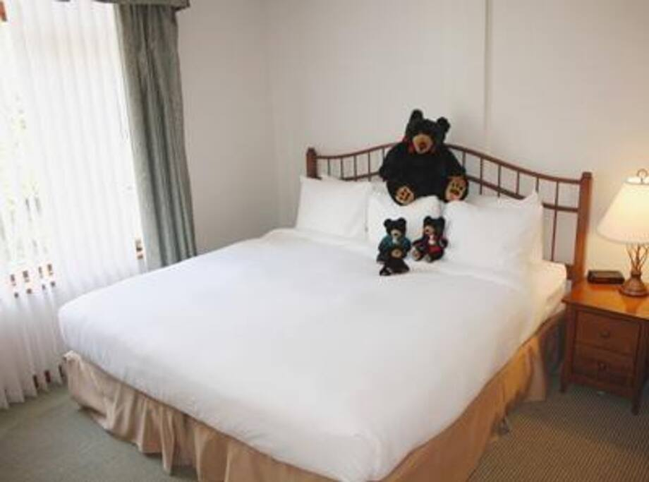 Standard Bed - actual room ma