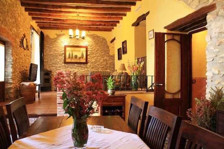 Casa rural l'Americà, tranquilidad a 10' de playa - Sant Jordi - Apartamento