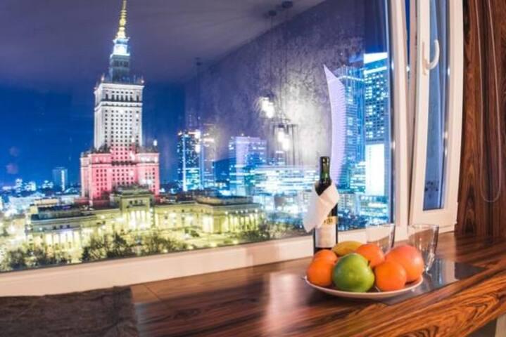 Best View in Warsaw! - Luxury Studio Centrum