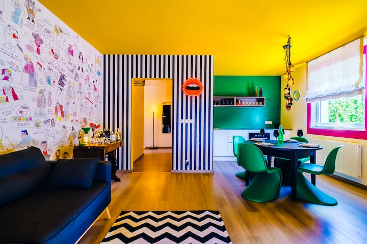 PEPPIS LOFT: Stay different (in Merano Downtown)