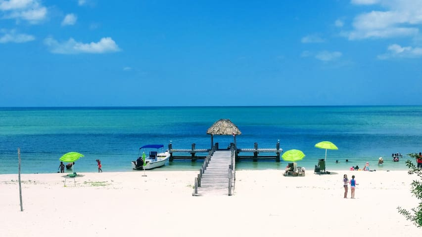 Ocean front spacious nice Villa Playa Maya